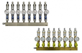 Manifolds for pipes - vacuum
