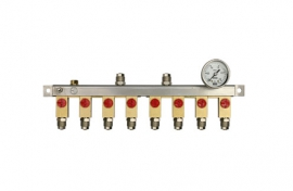 Manifolds for pipes up to 2,5 bar (lightweight design)