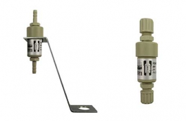 Liquid stop valves (PP) / floater (PK or PP)