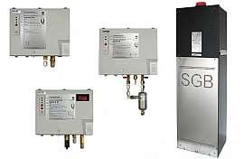 Pressure leak detectors (DLR-G, DLR-GS, DLR-P, LDU14)