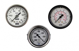 Analogue gauges