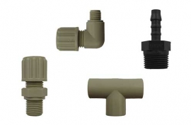 Unions / fittings (plastic)