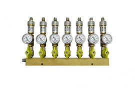 Manifolds for pipes (brass) (QU)