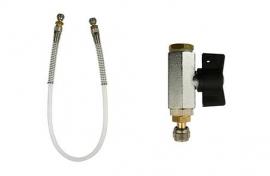 Inst. kit for UPP pipes (Schrader valve)