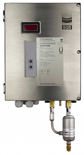 Leak Detector DLR-P 4.5 M, pul-d, 100-240VAC|24VDC, ss-box, CF8/6