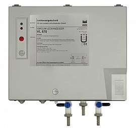 Leak Detector VL 570, pp-v, 230VAC, pl-box, hose with 6 mm i.d.