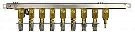 Manifold 8 tanks, stackable, pump unit VIMS