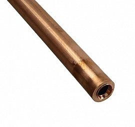 CU pipe, 6/4x1mm, customized length, max. 50m