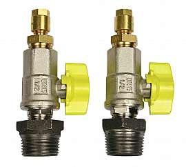 Inst. kit DL.., DLG.., R1'm - CF8/6, shut-off valve, PA-hose 8/6x1mm