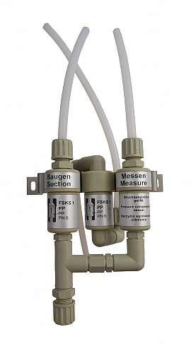 Inst. kit VLR (087..), PP8/6, w/o solenoid valve, PA/PTFE-hose 8/6x1mm