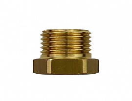 Reduction Fitting G3/8' - G1/4' G3/8'male-G1/4'female, Brass