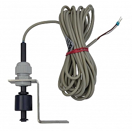 Floating switch FS, f. LS 50, PVC, 5 m cable, holder