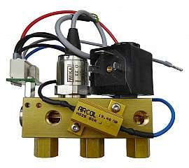Manifold DLR-G with sensor 10 bar without PRV, 24 V DC, solenoid valve