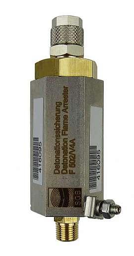 Detonation Flame Arre.F502, Durapipe, brass, 1/8'' k - QU8/6