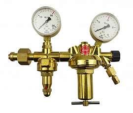 Pressure Regulator, 2-stage, 20bar,CF6/4 Inlet 200bar, Deliv. 20bar, W24,32x1/14'