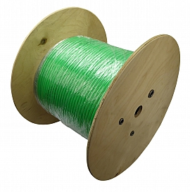 PA-hose, PN6, green, 8/6x1mm, 250m roll disposable coil