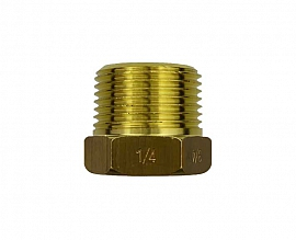 Reduction Fitting R3/4' - G1/4' R3/4'male-G1/4'female, Brass