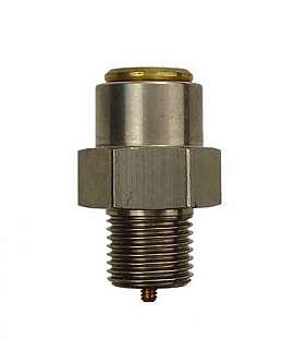 Overpressure Valve, Brass, NBR, G1/8' 2430 mbar Open. Pressure (DLG 1100)