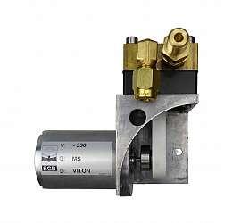 Vacuum Pump 24 V DC 85@330; brass; viton