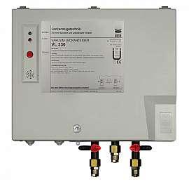 Leak Detector VL 330, 230VAC, pl-box, QU8/6