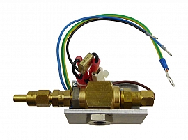 Heating Unit for DL...and DLR-P... 230 V Angle a. Union w.o. Overpressure Valve