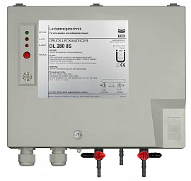 Leak Detector DL 280 8S, 230VAC, pl-box, H4+H6