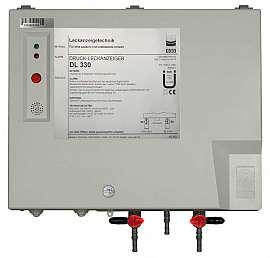 Leak Detector DL 330, 100-240VAC 24VDC, pl-box, H4+H6