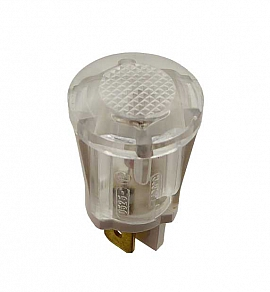 Signal Lamp, Clear, 230 V