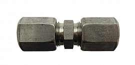 Straight Union, KV 8 mm 1.4571 Compression Ferrule