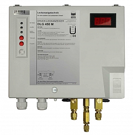 Leak Detector DLG 450 M, 100-240VAC, pl-box, CF8/6