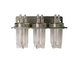 Triple condensate trap, each 30ml, PVC-hose 8/4x2mm or 10/6x2mm