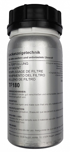 Dry filter agent, TF180 (180 grams)