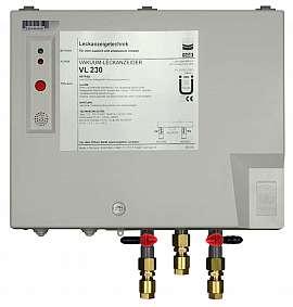Leak Detector VL 230, 100-240VAC|24VDC, pl-box, CF8/6