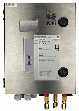 Leak detector VL 34 P, 230VAC, ss-box, CF8/6