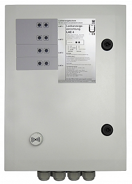 Leak indicating unit LAE-4, 100-240VAC/24VDC, IP30