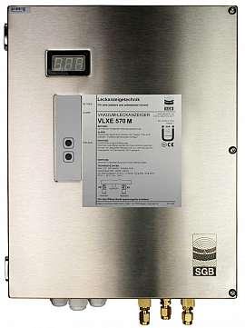 Leak Detector VLXE 570 M, 100-240VAC|24VDC, ss-box, CF8/6