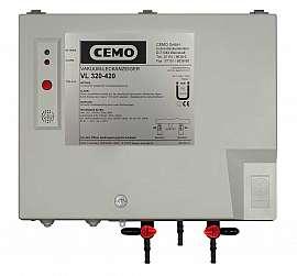 Leak Detector VL 320-420, 230VAC, pl-box, hose with 4 or 6 mm i.d.