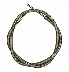 SS-Flex-hose, PN80, shaft 80mm, 6mm i.d., length 1,2m