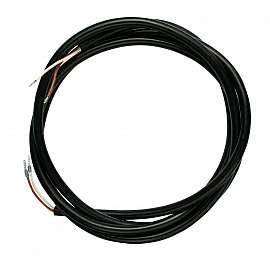 Kabel 2x0,75, geschirmt, Mantel schwarz z.B. für VIMS, VLX-S 350 M