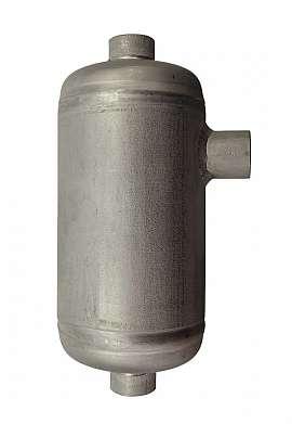 Condensate trap, 0,1 liter, ss, 25bar, 3x 1/8'f