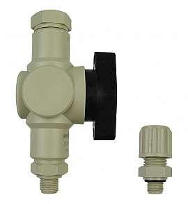 Installation kit pipe, polypropylene, G1/8'm - PP8/6