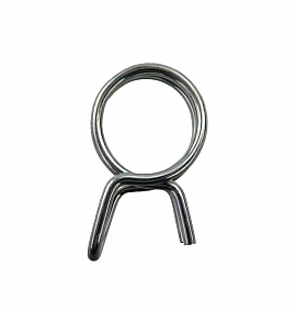 Wire Hose Clip 10,7, Self Clamping Tension Diameter 10,7 mm