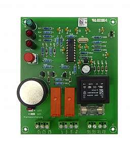 Main Board LS-50 f. Wall Housing w. 2 Sensors, 230 , Printed a. Tested