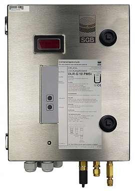 Leak Detector DLR-G 10 PMSi, 100-240VAC|24VDC, ss-box, FU6/4
