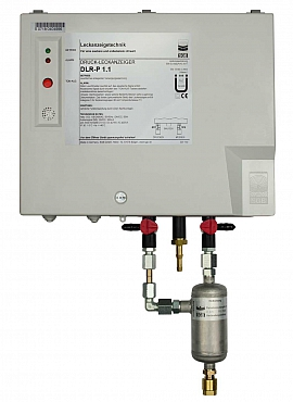 Leak Detector DLR-P 1.1, pul-d, 100-240VAC|24VDC, pl-box, CF8/6