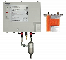 Leak Detector DLR-P 1.1, pul-d, TF200, 100-240VAC|24VDC, pl-box, FU6/4