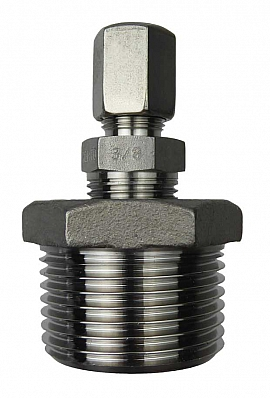Inst. kit DL.., R1'm - ss-CF8/6, ss-pipe 8/6x1mm