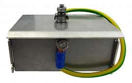 Rain cover solenoid valve, stainl. steel VL(R)..(PMMV), VLXE..Ex M(MV)