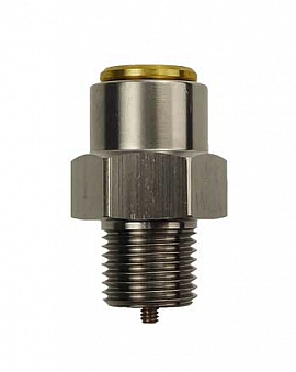 Overpressure Valve, Brass, NBR, G1/8' 1650 mbar Open-Pres.(DLR-P 1.1, DL 1100)
