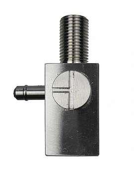 ss-3-way valve, ss cock pl./con.piec. l. G1/8'f, M10x1m